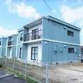 出雲市で鉄筋コンクリート造の集合住宅の外壁塗替え